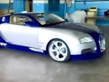 [Vidéo] L'effrayante Bugatti Veyron russe sur base de BMW Serie 6