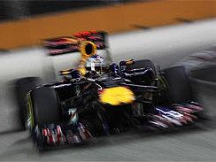 F1-Singapour: 11ème pole de l'année pour Vettel !
