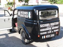 Nostalgie: à l'origine la police de la route était au service des usagers