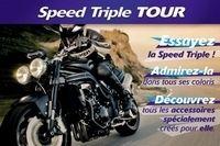 Speed Triple Tour 2009 : Découverte et essais au rendez-vous