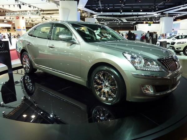 Mondial de l'Auto 2010 : Hyundai Equus, en commande spéciale pour la France
