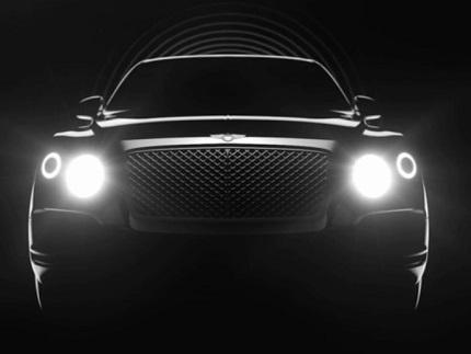 Bentley tease encore son futur SUV