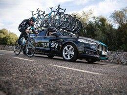L'équipe cycliste SKY abandonne ses Jaguar pour des Ford