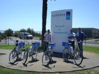 Galderma : des vélos électriques à Sophia-Antipolis