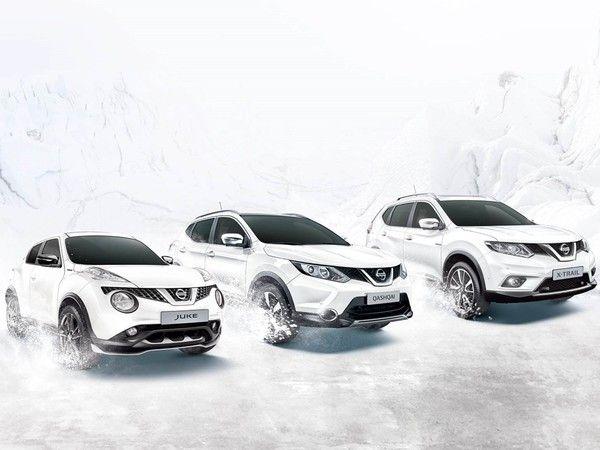 Nissan White Edition : des crossovers Juke, Qashqai et X-trail blancs comme neige