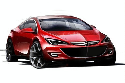 Future Opel Astra Sport Hatch: jolie jolie