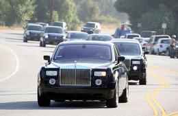 """Michael Jackson: des Range Rover et Rolls Royce Phantom """"gratuites"""" pour ses funérailles..."""