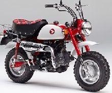 Honda : la dernière version de la Monkey Dax