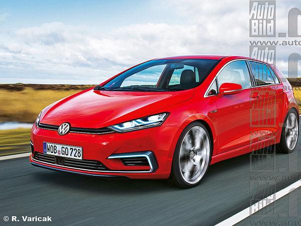 """Future Volkswagen Golf: style incisif et """"coupé 4 portes"""" au programme?"""