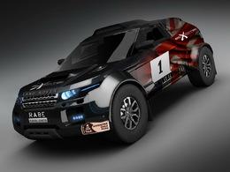 Des Range Rover Evoque engagés sur le Dakar 2012