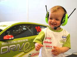 Volvo crée une ligne de vêtements enfant Racing Green
