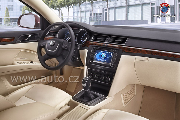 Bienvenue dans la future Škoda Superb