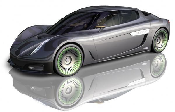 Koenigsegg renie le Concept Quant !