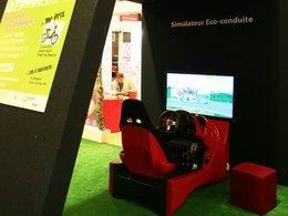 Le virus des simulateurs d'éco-conduite au Mondial de l'Auto 2010