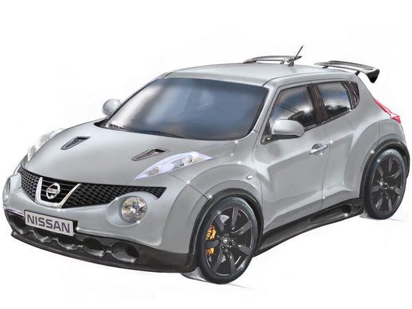Nissan Super Juke : le super crossover au cœur de GT-R