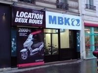 Ouverture d'une concession Darcos/MBK à Paris