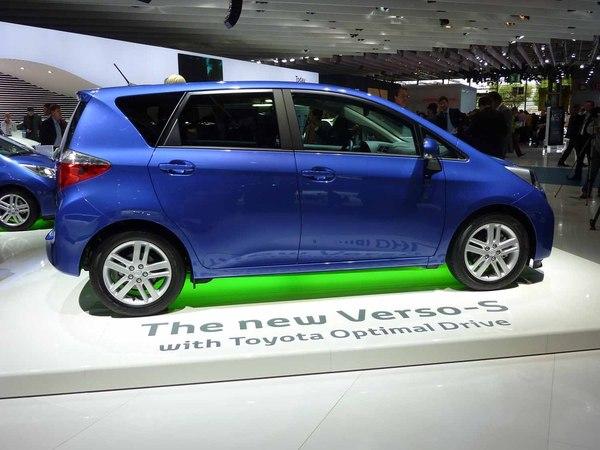En direct du Mondial de l'auto 2010 : Verso S, le Meriva de Toyota