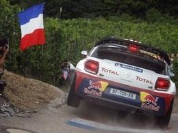 Sébastien Loeb sous pression en Alsace
