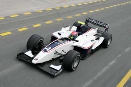 GP2 Asia Dubaï: Grosjean en pole