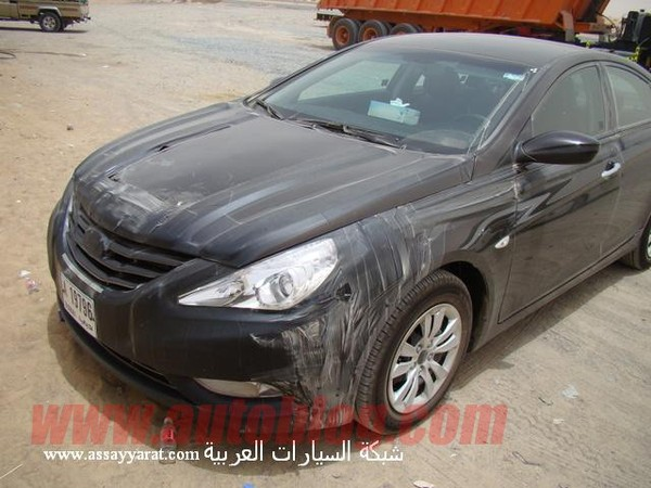 Spyshot : la future Hyundai Sonata / i40 surprise à Dubai