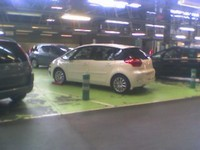 Citroën C4 Picasso 5 places : en chair et en os !