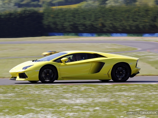 Photos du jour : Lamborghini Aventador (GT Days)