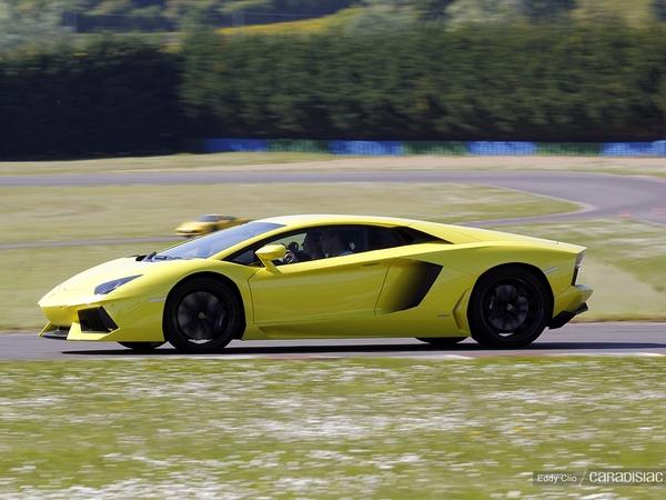 Photos du jour : Lamborghini Aventador (GT Days)