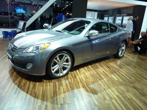 Mondial de l'Auto 2010 : Hyundai Genesis coupé, maintenant pour la France
