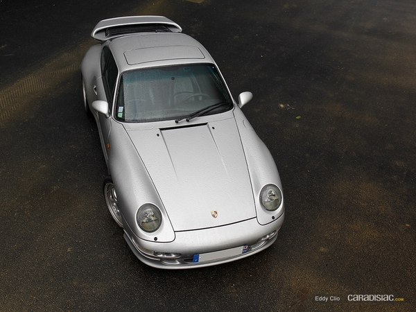 Photos du jour : Porsche 911 993 Turbo (Make A Wish)