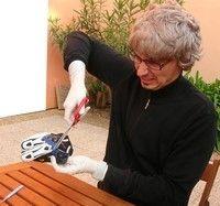 Processus de conception d'un gant moto.