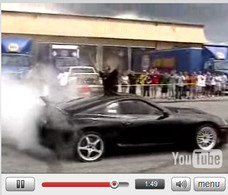Vidéo : Supra pétage de rondelles