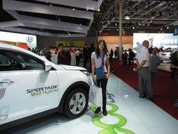 En direct du Mondial de Paris : le nouveau Kia Sportage Mild Hybrid
