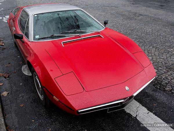 Photos du jour : Maserati Bora