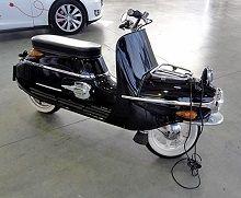 ezeta 506 : le pari du scooter électrique de luxe