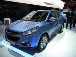 En direct du Mondial de Paris : le Hyundai ix35 Mild Hybrid