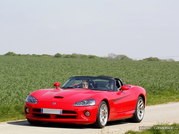 Photos du jour : Dodge Viper SRT/10
