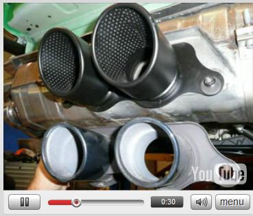 Vidéo Vroom Vroom : Porsche 911 GT3 RS avec échappement Cargraphics Kit5