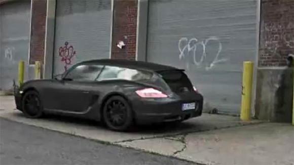 """""""Papa, c'est quoi cette Porsche Cayman Shooting Brake?"""" [+lien vidéo]"""
