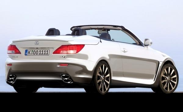 Futures Lexus IS F Convertible et Lexus SC