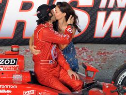 L'actrice Ashley Judd est très contente du titre de Dario Franchitti en IndyCar