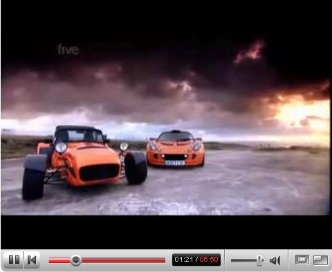 Vidéo Fifth Gear : Caterham CSR260 vs Lotus Exige, pas pour les filles (et pourtant !)