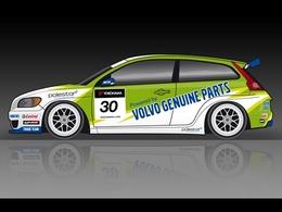 Volvo en WTCC pour la manche de Brands Hatch