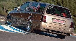 VW Golf 3 break, une petite préparation bien dosée...