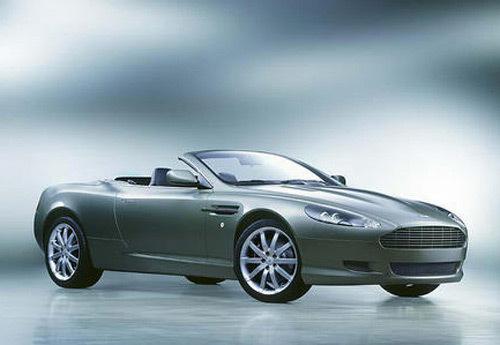 Aston Martin DB9 Volante : belle et puissante