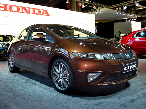 Mondial de l'auto 2010 Live : la Honda Civic GT que vous n'aurez pas