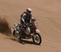 Dakar 2010 : 7ème étape, l'étape la plus longue pour Yannick Guyomarc'h, 2 jours et une nuit
