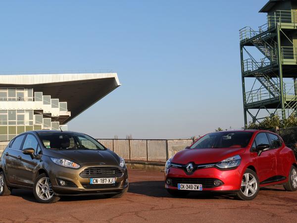 Comparatif vidéo - Renault Clio vs Ford Fiesta : titre européen en jeu