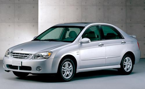 Kia Cerato : 1ere nouveauté de 2004