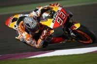 MotoGP Tests Qatar J1 : Márquez tombe deux fois
