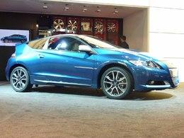 Mondial de l'auto 2010 Live : le Honda CR-Z se fait beau